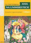 Książka Ania na uniwersytecie z opracowaniem