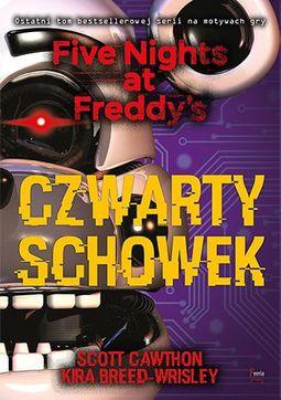 Książka Five Nights At Freddy's. Tom 3. Czwarty schowek