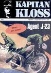 Książka Kapitan Kloss nr 1 Agent J-23 *