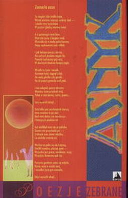 Poezje Zebrane Asnyk Adam Asnyk Opis Ocena Recenzja