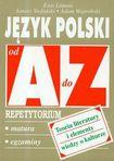 Książka Język polski od A do Z : teoria literatury i elementy wiedzy o kulturze : repetytorium