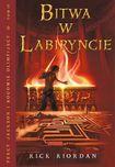 Książka Percy Jackson i bogowie olimpijscy #4 - Bitwa w Labiryncie