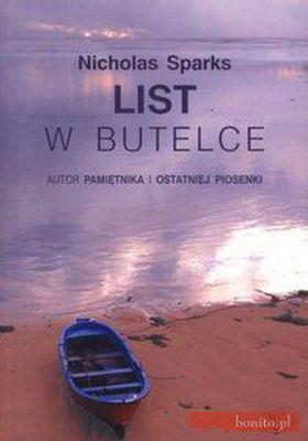 Książka List w butelce