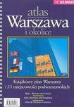 Książka Atlas książkowy. Warszawa i okolice 1:20 000. Plan Warszawy i 33 miejscowości podwarszawskich