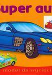 Książka Super auta Malowanka z naklejkami 3-6 lat