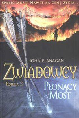 Książka Zwiadowcy #2 – Płonący most