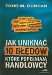 Książka Jak uniknąć 10 błędów które popełniają handlowcy