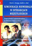 Książka Komunikacja niewerbalna w interakcjach międzyludzkich