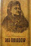 Książka 365 obiadów Lucyny Ćwierczakiewiczowej