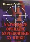 Książka Największe operacje szpiegowskie XX wieku