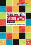Książka Funkcjonalność stron www. 50 witryn bez sekretów