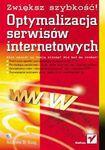 Książka Optymalizacja serwisów internetowych : zwiększ szybkość!