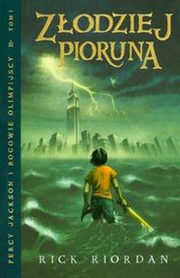 Książka Złodziej Pioruna. Percy Jackson i Bogowie Olimpijscy 1.