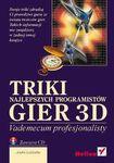 Książka Triki najlepszych programistów Gier 3D : vademecum profesjonalisty