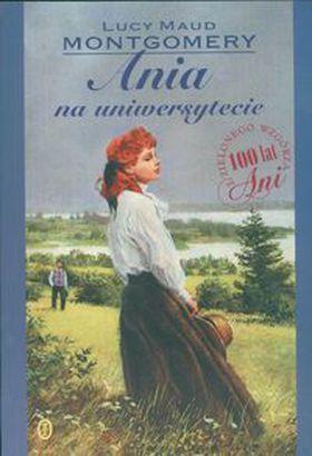 Książka Ania na uniwersytecie