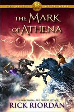 Książka Olimpijscy Herosi Tom 3 Znak Ateny