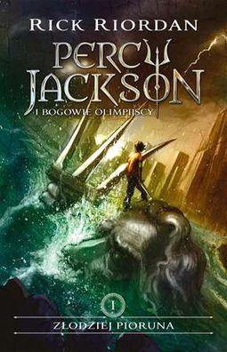 Książka Zlodziej pioruna. Percy Jackson i Bogowie Olimpijscy. Tom 1