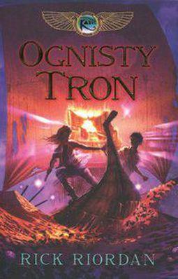 Książka Ognisty Tron.. Tom II. Kroniki Rodu Kane