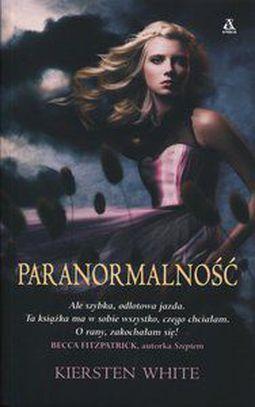 Książka Paranormalność