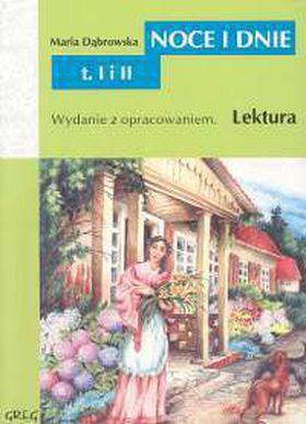 Książka Noce i dnie z opracowaniem t.I/II