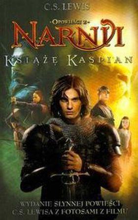 Książka Opowieści z Narni Książę Kaspian