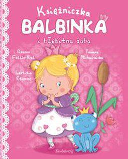 Książka Księżniczka Balbinka i Błękitka Żaba