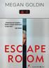 Książka Escape Room