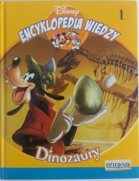 Książka Encyklopedia Wiedzy. Dinozaury