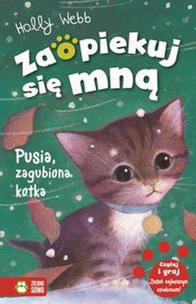 Książka Pusia zagubiona kotka