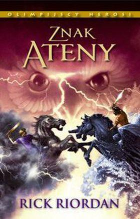 Książka Znak Ateny Olimpijscy Herosi tom 3