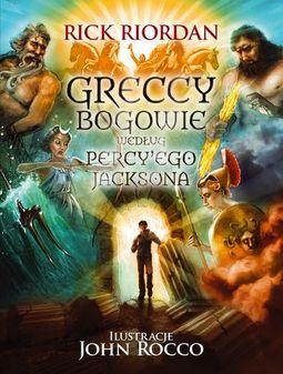 Książka Greccy Bogowie według Percy'ego Jacksona