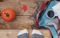 Jesienny zestaw mola książkowego