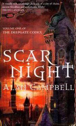 Książka SCAR NIGHT